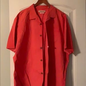 Dry-cleaned Tommy Bahama shirt